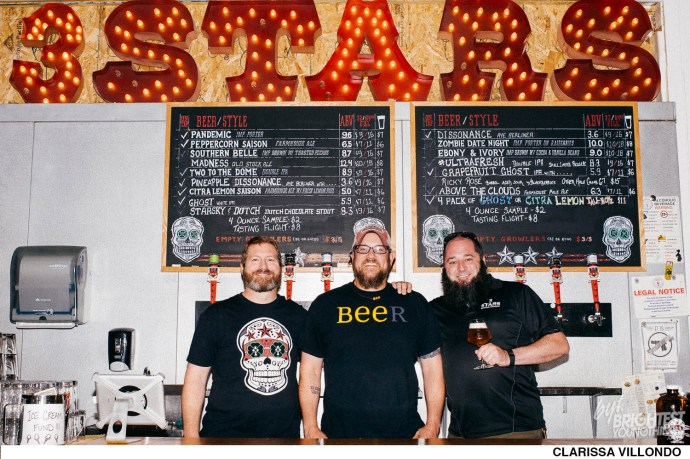 3 Stars Brewing Company opened a new sour room and released a new beer, Two Headed Unicorn. 09/12/2016. Photography by Clarissa Villondo www.clarissavillondo.com