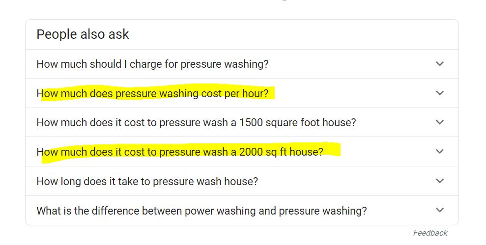Soft Works Power Washing Companies