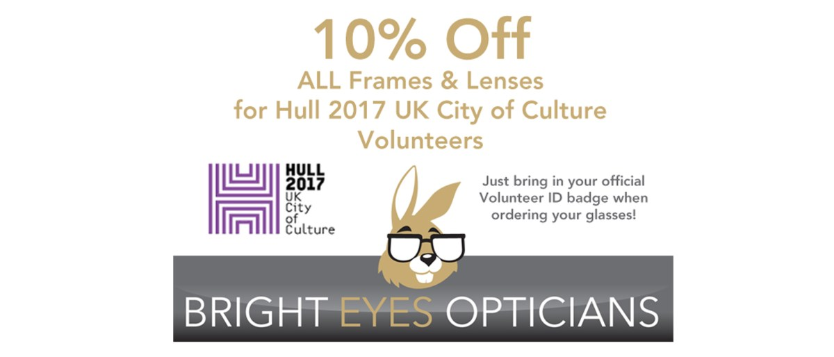 City of Culture, Hull, Special Offer, Glasses