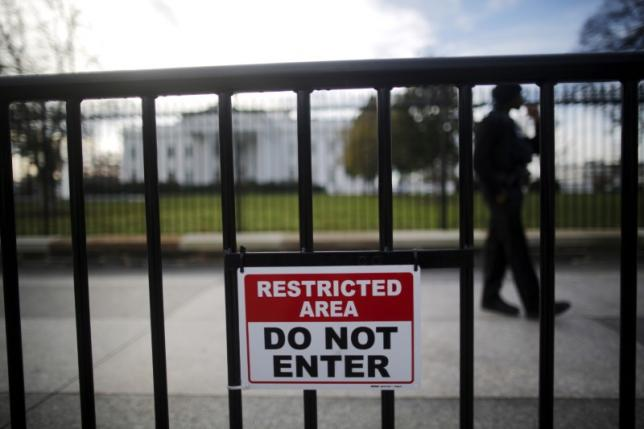 A man was arrested near the White House after telling police he had a bomb in his car