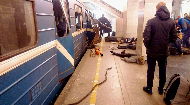 Terrorist attack in Russia
