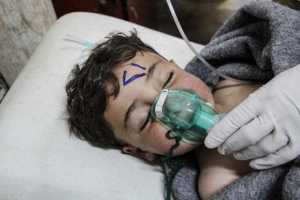 80 people lost their lives in the Syrian gas attack