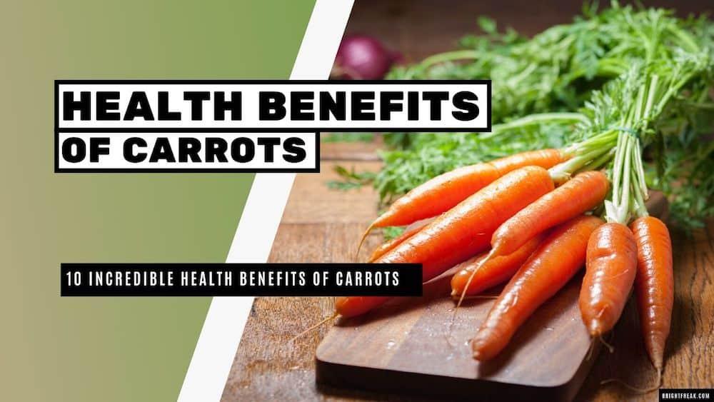 10 Proven Health Benefits Of Carrots - Bright Freak