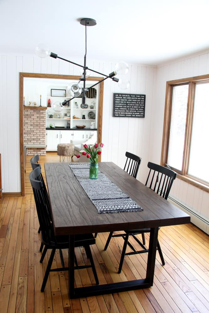 Industrial Modern Dining Room