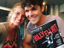 We had a date night and saw Billy Elliott the musical.
