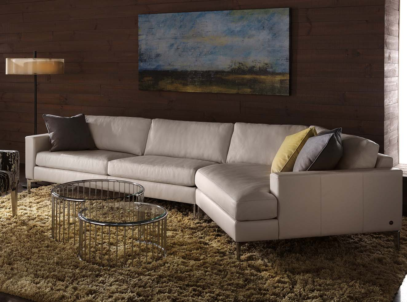 younger sofa james big lots pillows american leather oliver sectional