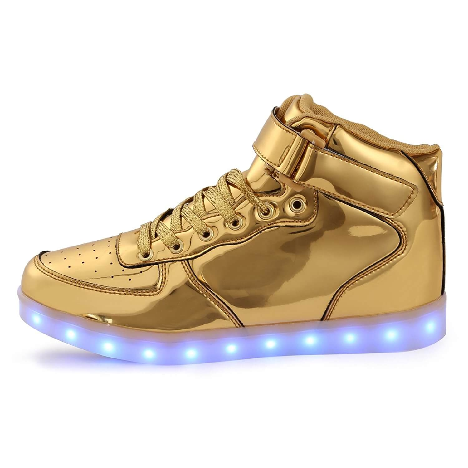 led shoes kids high