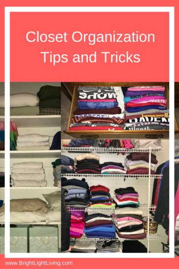 Closet Organization Tips and Tricks