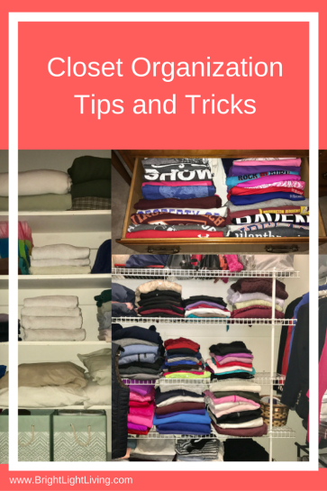 Closet Organization Tips and Tricks