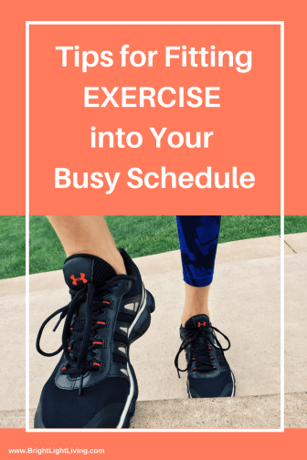 Tips For Fitting Exercise Into Your Busy Schedule