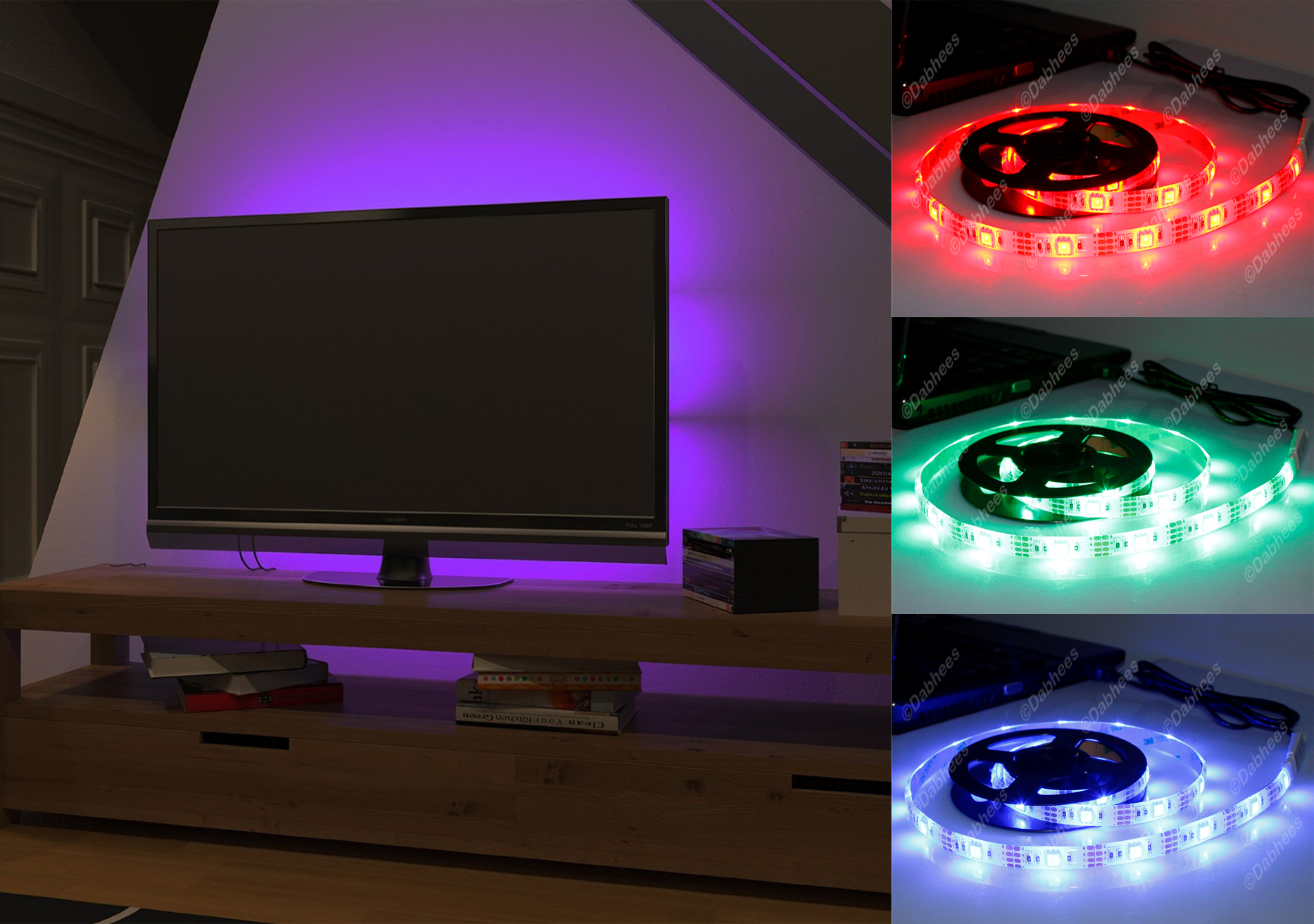 Leds Super Bright Led Strips Rgb Input Power Wire For Led Strips