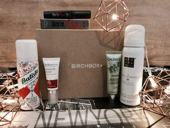 Birchbox March goes back to it's roots