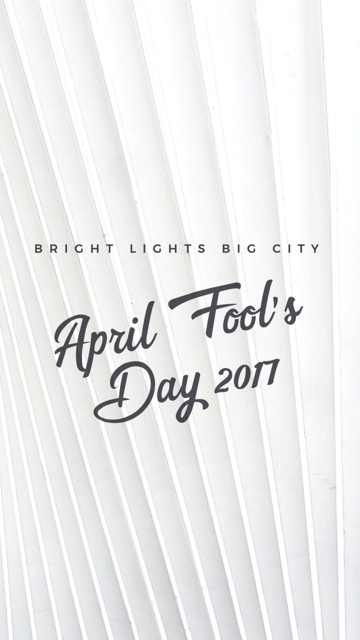 April Fool's Day 2017 round up!