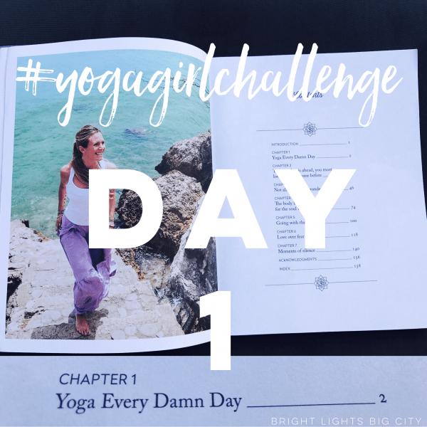 #Yogagirlchallenge starts today!