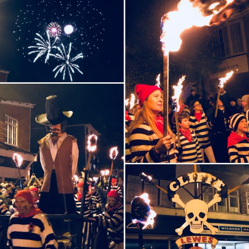 Lewes Bonfire Night 2017