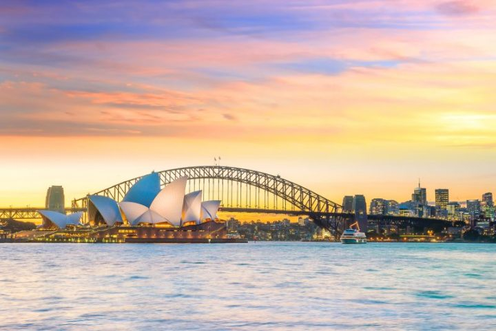 Today I'm climbing the Sydney Harbour Bridge!
