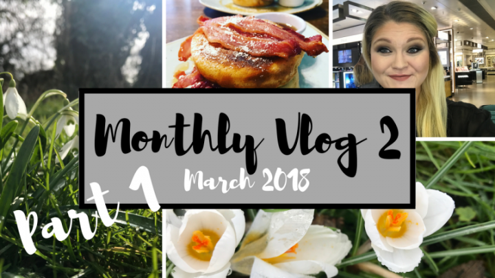 Monthly Vlog #2 | MARCH 2018 | PART 1 | SNOW, HAIR LOSS, MAC MAKEOVER | Bright Lights Big City