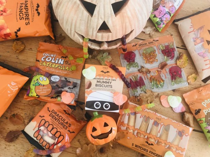Halloween treats and sweets from the 2018 range