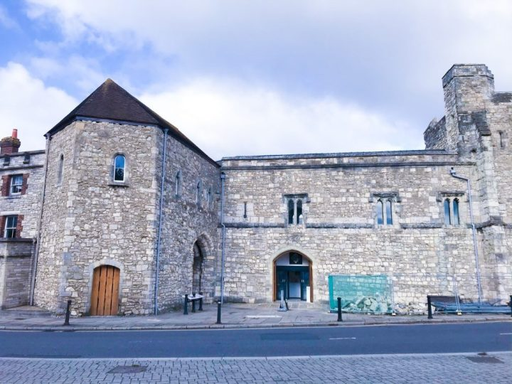 Art, coffee and history at God's House Tower in Southampton