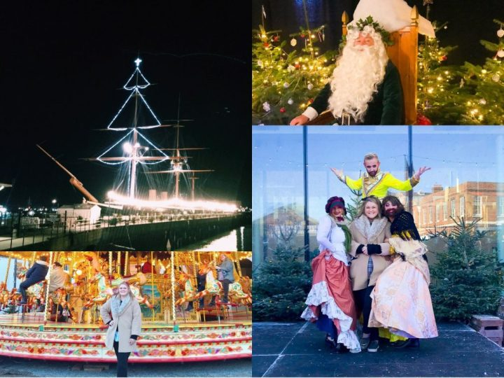 20 years of The Victorian Christmas Festival at Portsmouth Historic Dockyard