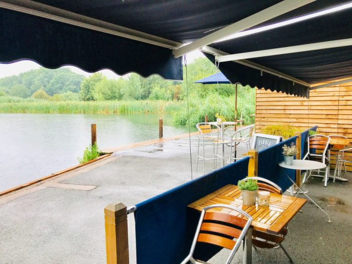 Breakfast by the river at The Longholme, Bedford