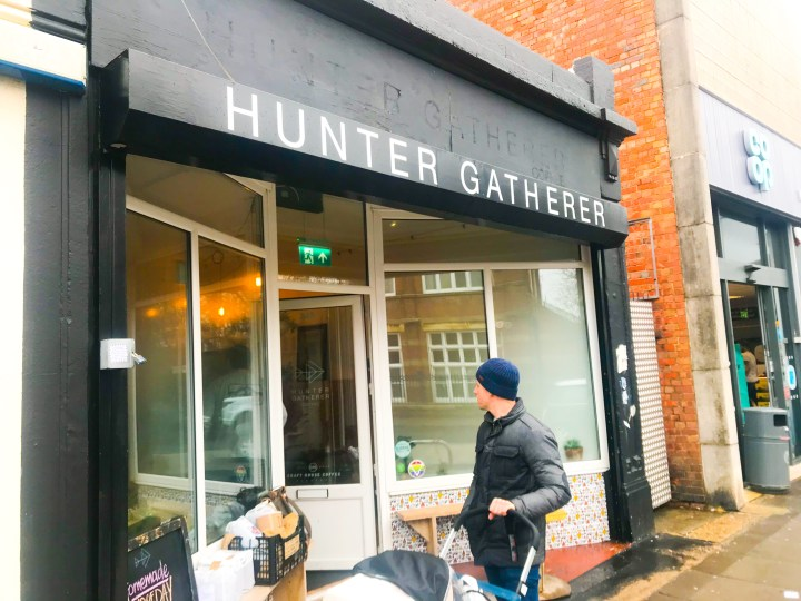 Hunter Gatherer in Portsmouth, Hampshire.