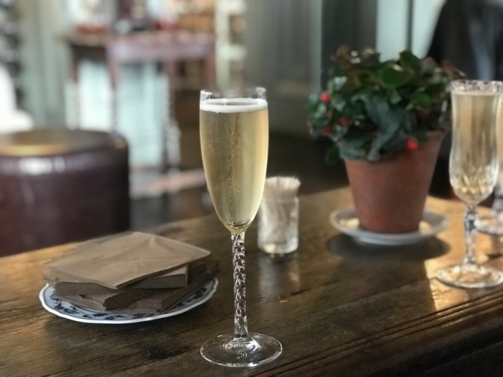 Sparkling wine from The Hambledon in Hampshire