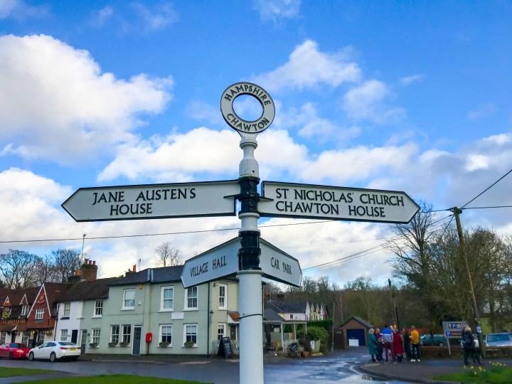 Jane Austen Museum & Chawton House in Hampshire