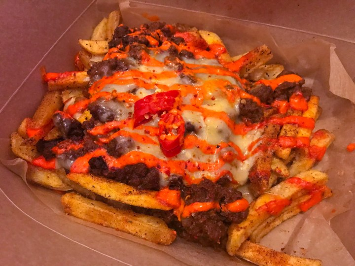 The Dirty Fries from Mi Cocina Mexican Food in Winchester, Hampshire