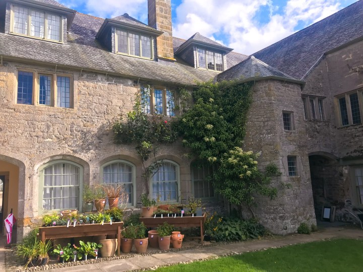 Trerice House in Newquay, Cornwall, England, UK