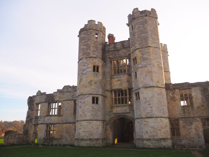 The back of Titchfield Abbey in Hampshire an English Heritage Site