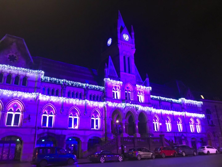 The Winchester Christmas Lights at Winchester Guildhall
