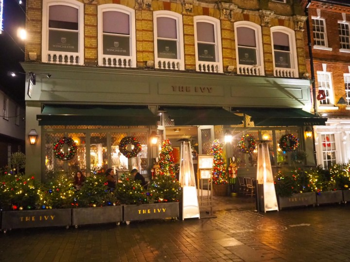 The Winchester Christmas Lights at The Ivy