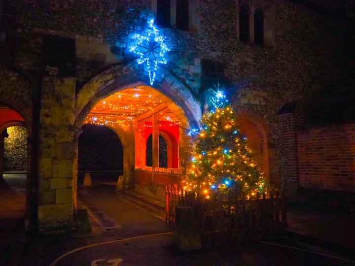The Winchester Christmas Lights at Kingsgate Village