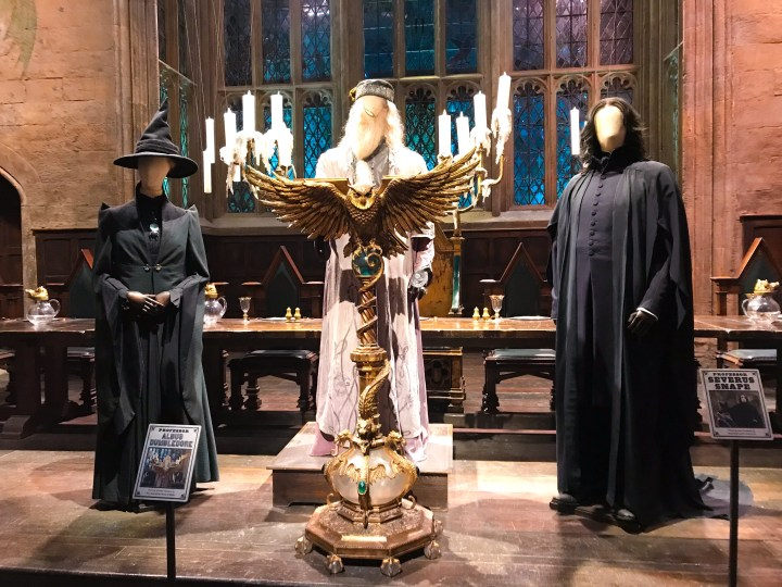Costumes at Warner Bros. Studio Tour - The Making of Harry Potter