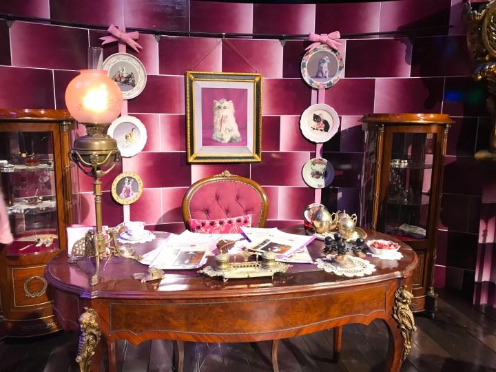 Dolores Umbridge's office at Warner Bros. Studio Tour - The Making of Harry Potter