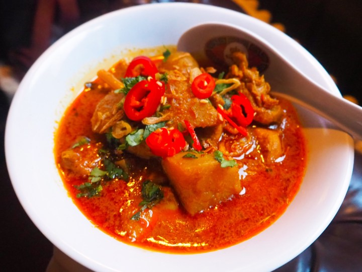 The Malaysian Curry at Lucky Lychee
