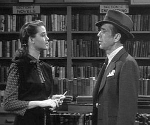Malone and Bogart at the Acme Bookshop