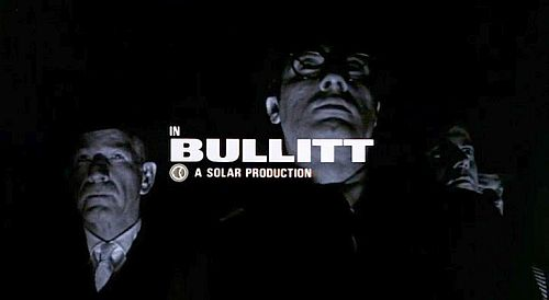 From Pablo Ferro's title sequence for Bullitt