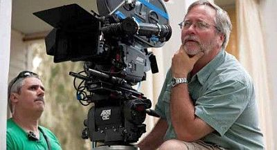 Sean Bobbitt on the set of   12 Years a Slave