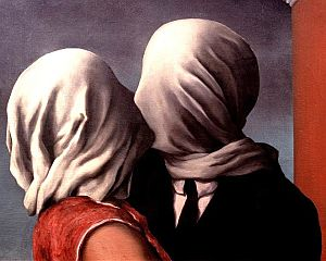 Rene Magritte's The Lovers (1928)