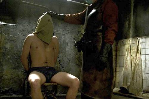 Echoes of Abu Ghraib: Hostel (2005)