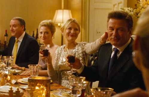 Cate Blanchett as Jasmine and Alec Baldwin as Hal in Blue Jasmine