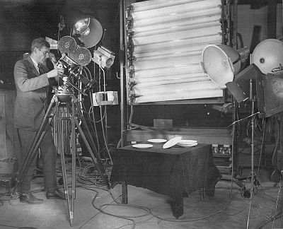 James Sibley Watson shooting Fall of the House of Usher