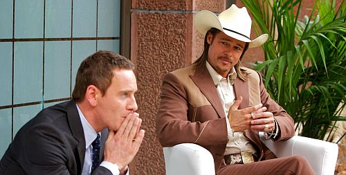 The Counselor and Westray (Brad Pitt)