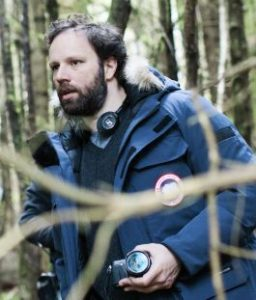 Yorgos Lanthimos during the making of The Lobster
