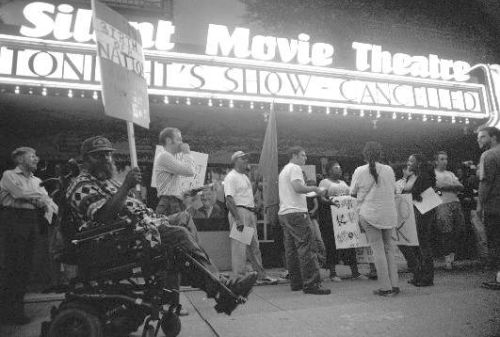 A 2004 protest stopped a screening of Birth of a Nation at the Silent Movie Theatre in Los Angeles