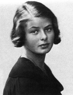 Ingrid Bergman, age 14. Photo courtesy of Wikimedia Commons
