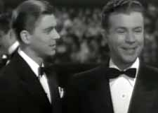 Ronald Reagan and Dick Powell