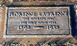 Florence Lawrence's grave